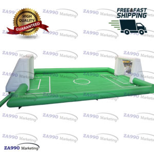 40x20ft Inflatable Football Field Soccer Game With Air Blower