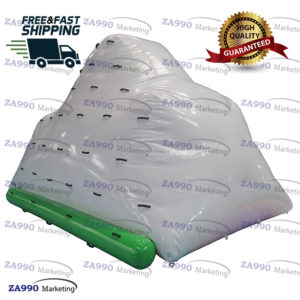 10x10ft Inflatable Floating Water Iceburg Climbing Mountain With Air Pump