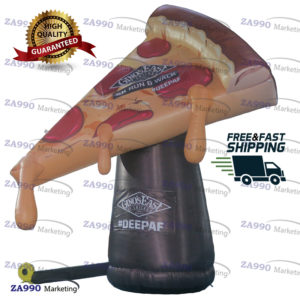 13ft Inflatable Pizza Advertising Promotion With Air Blower