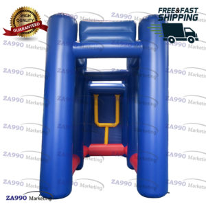 20×8.2ft Inflatable Rugby / Football Goal With Air Blower
