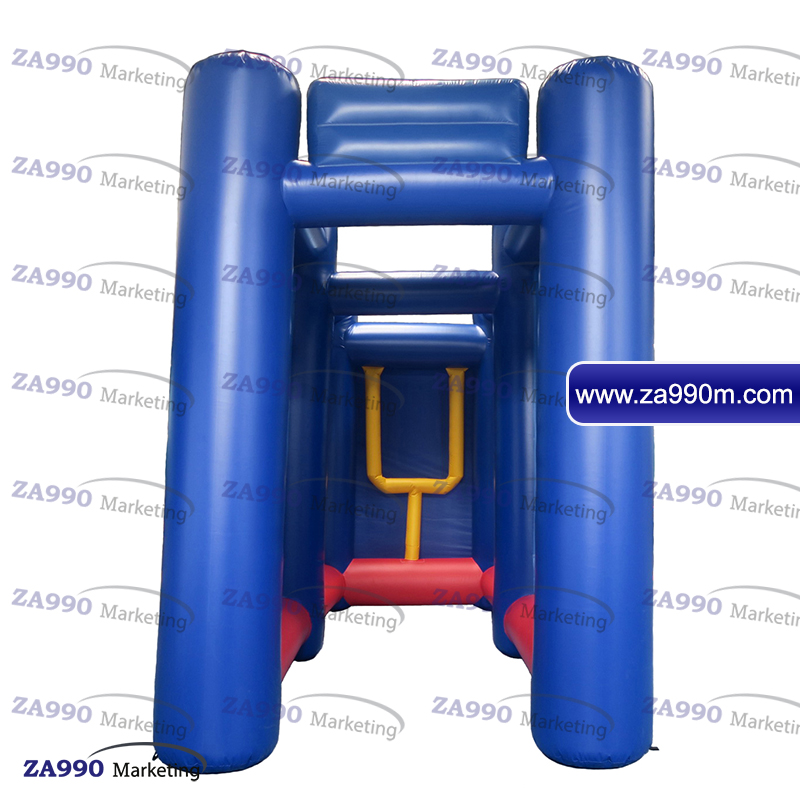 Details about 20x8 2x11 5ft Inflatable Rugby / Football Goal Sport Game  With Air Blower