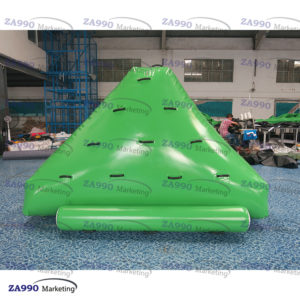 10x10ft Inflatable Floating Iceburg Climbing Water With Air Pump