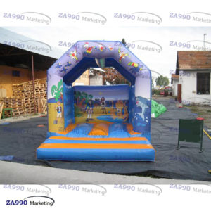 11.5×11.5ft Inflatable Animals Bounce House With Air Blower