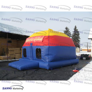 13x15ft Inflatable Disco Dome Bounce House With Air Blower