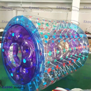 6.6×5.9ft Inflatable Roller Walk On Water For Pool With Air Pump