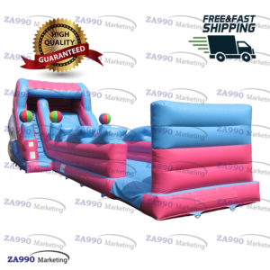 50x13ft Commercial Inflatable Bounce Slide With Air Blower