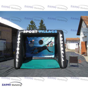 13x10ft Inflatable Soccer Kick Toss With Air Blower