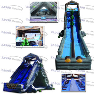 82x16ft Giant Inflatable Water Slide With 3 Air Blowers