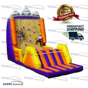 20x13ft Inflatable Climbing Wall With Air Blower