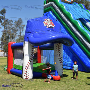 20x13ft Inflatable Baseball Activitie Game With Air Blower