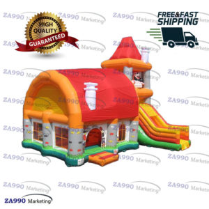 33x20ft Inflatable Pirate Bounce House & Slide