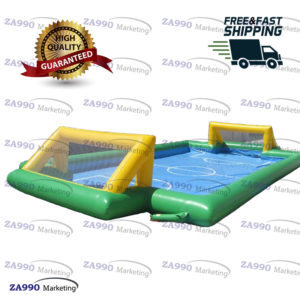 39x20ft Inflatable Soccer Field Football Bounce Court Sport With Air Blower