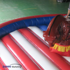 16ft Inflatable Rodeo Mechanical Bull Riding With Air Blower