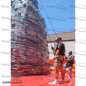 16x16ft Inflatable Tower Climb Bounce With Air Blower