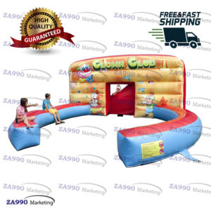 20x20ft Inflatable Circus, Jugglers or Clowns Interactive Shows With Air Blower