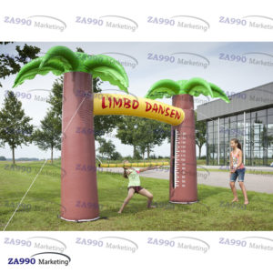 11.5×4.9ft Inflatable Limbo Game Bounce With Air Blower