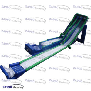 115x33ft Huge Inflatable Water Bounce Slide With 4 Air Blowers