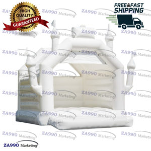 16x16ft Inflatable Bounce House Wedding With Air Blower