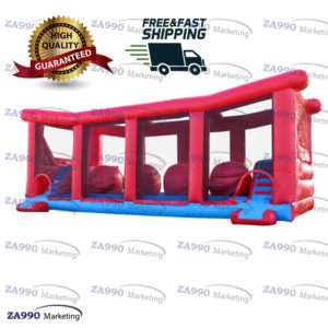 33x13ft Inflatable Jump 4 Big Mega Balls With Air Blower
