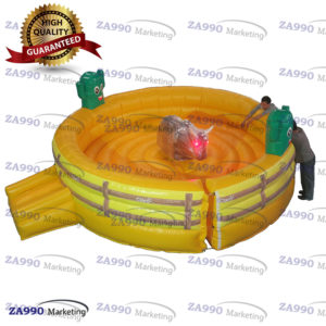 20ft Inflatable Rodeo Mechanical Bull Riding Machine With Air Blower