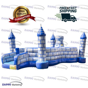 23x13ft Commercial Bounce Climbing Area Castle With Air Blower