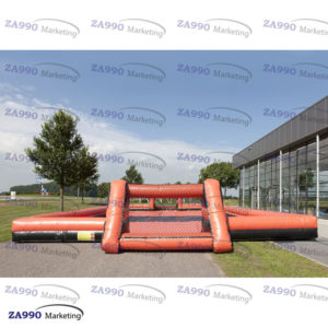 66x33ft Inflatable Field Football Soccer Sport Arena With Air Blower