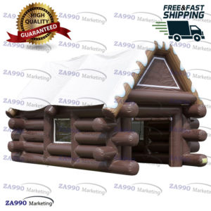 23x16ft Waterproof Inflatable Ski Cabin Tent Event With Air Blower