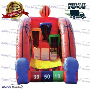 10×6.6ft Inflatable Basketball Sport Game With Air Blower
