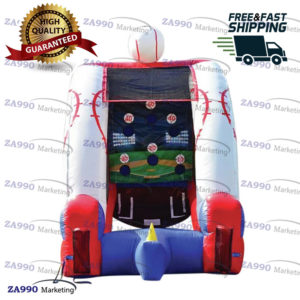 10×6.6ft Inflatable American Baseball Sport Game With Air Blower