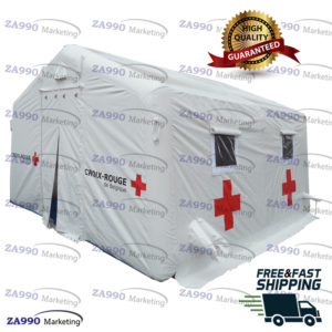 16x15ft Inflatable Medical Hospital Military Tent With Air Pump