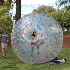 9.2ft Inflatable Zorb Ball Human Bubble With Air Pump