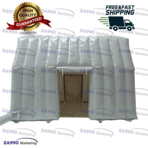 13x13ft Inflatable Waterproof Isolation Tunnel Tent With Air Blower