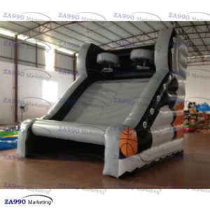 10x10ft Inflatable Basketball Hoop With Air Blower