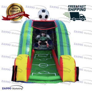10×6.6ft Inflatable Football Soccer Sport Game With Air Blower