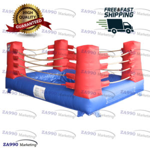 10x16ft Inflatable Mud Boxing Ring Arena Sport Game With Air Blower
