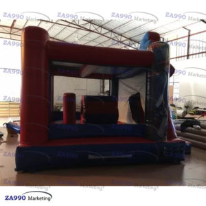 16x13ft Inflatable Spider-Man Bounce House With Air Blower