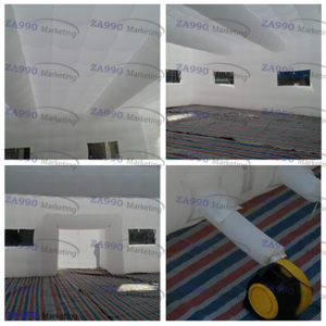 33x33ft Inflatable Event Tent With 2 x Air Blower