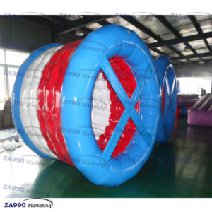 8.2×7.8ft Inflatable Roller Walk On Water For Pool With Air Pump