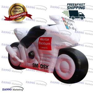 13ft Inflatable Advertising Motorbike Model With Air Blower