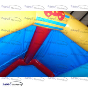16x13ft Inflatable Monkey Bounce House With Air Blower