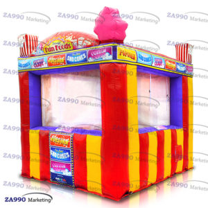 10x10ft Inflatable Food Concession Stand Tent Candy Booth With Air Blower