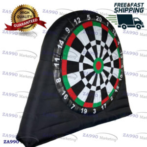 10ft Inflatable Dart Board 20 Darts With Air Blower