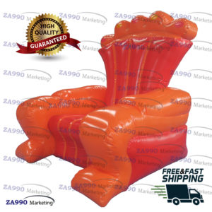 8.2ft Inflatable Chair King Throne With Air Blower