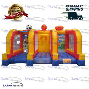 16x10ft Inflatable 3 IN 1 Carnival Sport Game With Air Blower