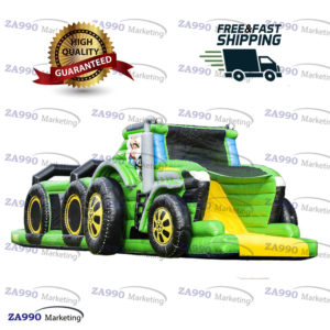 33x10ft Inflatable Course Obstacle Tractor With Air Blower