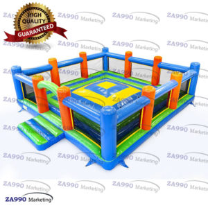 23x23ft Inflatable Soft Mountain Huge Trampoline With 2 x Air Blower