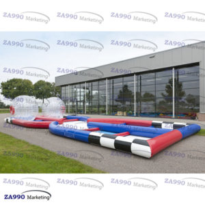 50x20ft Inflatable Track Race For Zorb Ball With Air Blower