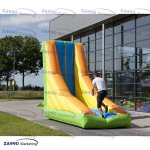 13×4.9ft Inflatable Tilting Wall With Air Blower