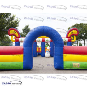 23x16ft Inflatable Pony Hop Horse Court Derby Race With Air Blower