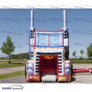 50x13ft Inflatable Truck Course Obstacle With 2 x Air Blower
